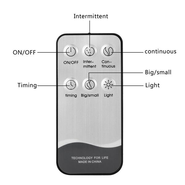 O2389YK 110V 500ML Color Cycling Aroma Diffuser with Black Controller US Plug