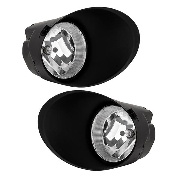 For 07-13 Toyota Tundra Double Cab/Crewmax Clear Fog Lights Bumper Driving Lamps