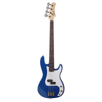 Glarry GP Electric Bass Guitar Cord Wrench Tool Blue