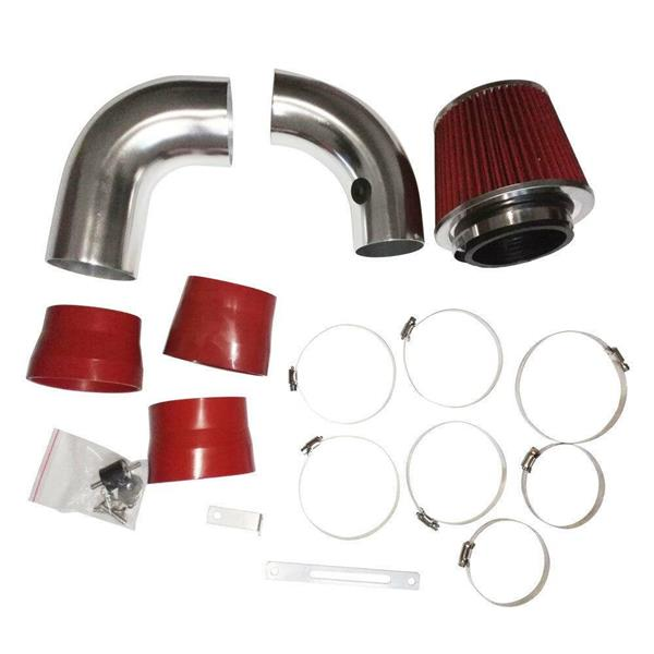 Air intake kit is suitable for 1996-2005 Chevrolet Blazer with 4.3l V6 Engine red