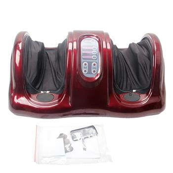 Intelligent 5-Mode Human Simulation Solid Massage Foot Malaxation Massager Red