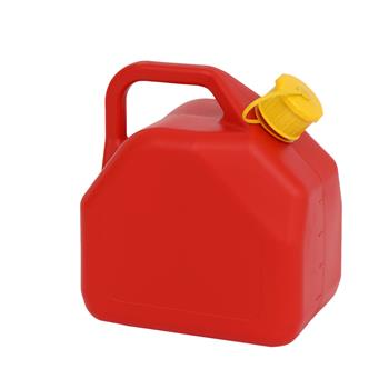 5L Gas Can Plastic Utility Jug Red