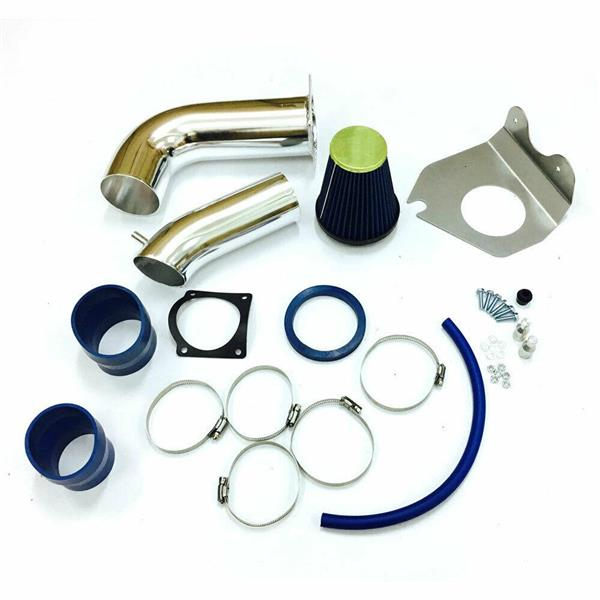 Cold Air Intake System for 1999-2004 Ford Mustang Base 3.8L V6 BX-CAIK-12 Blue