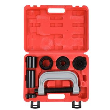 10-Piece Tool Kit Home/Auto Repair Hand Tool Set, with Portable Toolbox