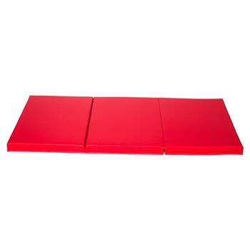 Beautiful And Stylish Portable Foldable Gymnastic Mat Red