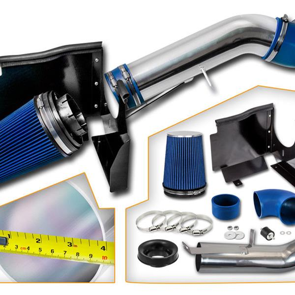 BX-CAIK-02 Cold Air Intake System for GMC/Chevy 4.8L/5.3L/6.0L V8 Blue