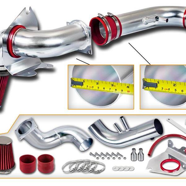 Cold Air Intake System for 1996-2004 Ford Mustang 4.6L V8 BX-CAIK-21 Red