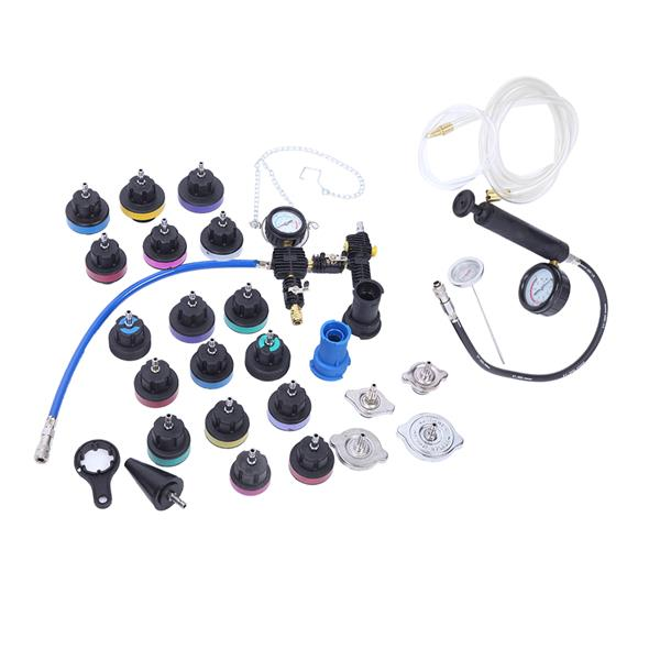 Cooling System Radiator Pressure Tester Kit Coolant Vacuum Purge Refill Adapter