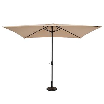 10FT Square Umbrella Waterproof Folding Sunshade Top Color(Resin Baseis not included, and 75690825、65010574、94617980、53133242 codes are required for t