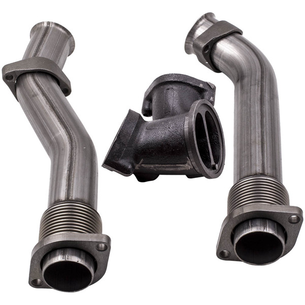 Bellowed Turbo Diesel Exhaust Up Pipe for ford F250 F350 7.3L Super Duty 99-03