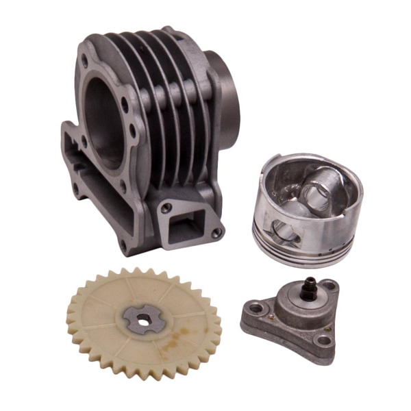 100cc Big Bore Performance 50mm Cylinder W/ 64mm Valve Fit for Scooter GY6