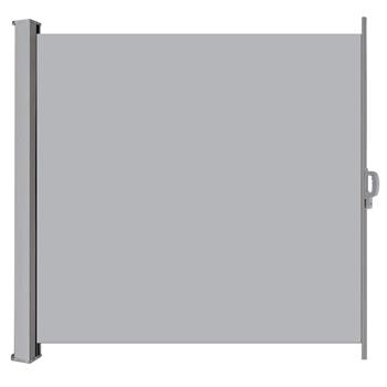 1.6x3m Outdoor Aluminum Pull Shed Light Gray