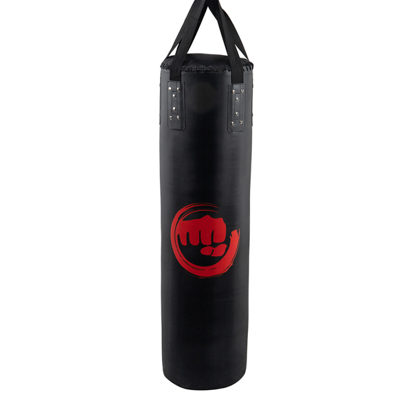 Punching Bag Filled Set , 47 x 14 inches Boxing Hanging Heavy Bag for Kickboxing Fitness Training Muay Thai MMA, Martial Arts, Home Gym