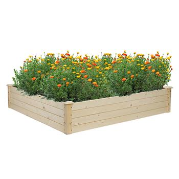 Wooden Planting Frame Ground Type 122*122*25.5cm