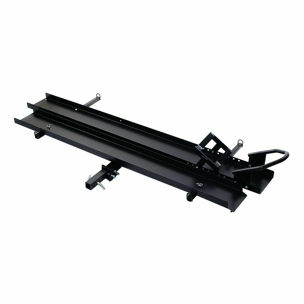600 LBS Motorcycle Carrier Dirt Bike Rack Heavy Duty with Loading Ramp