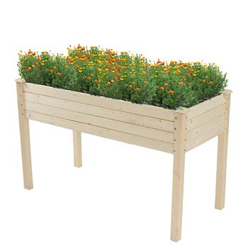 Wood Planting Frame Tall Foot Type 123*57*76cm
