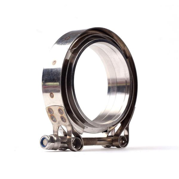 """Universal 3"""" Inch Stainless Steel V-Band Turbo Downpipe Exhaust Clamp"""