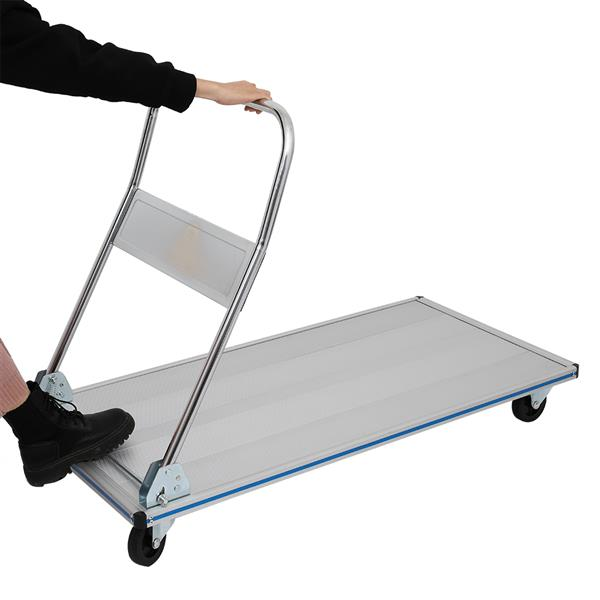 Convenient Foldable Flatbed Cart Extended Version-2041A350