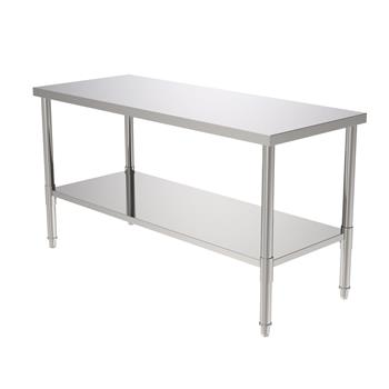 "60"" Stainless Steel Galvanized Work Table (without Back Board)"