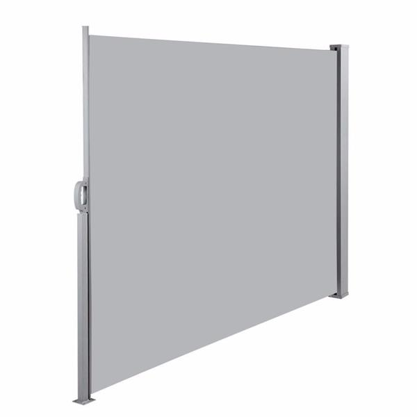 1.8x3m Outdoor Aluminum Pull Shed Light Gray