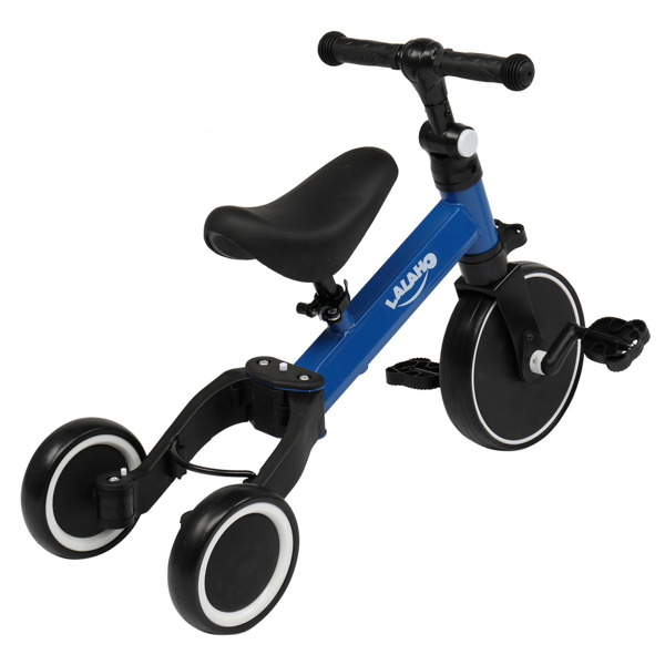 Kids 3 in 1 Tricycles  Blue