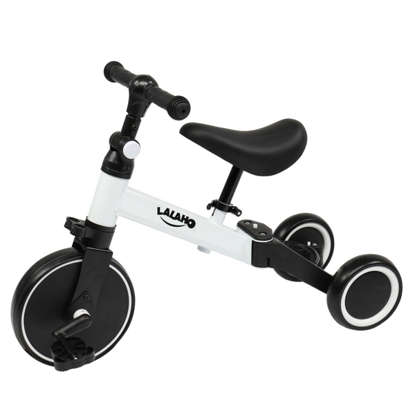 Kids 3 in 1 Tricycles  White