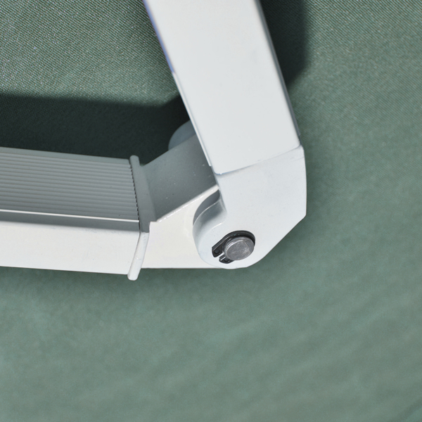 3x2.5 m Retractable Awning Green