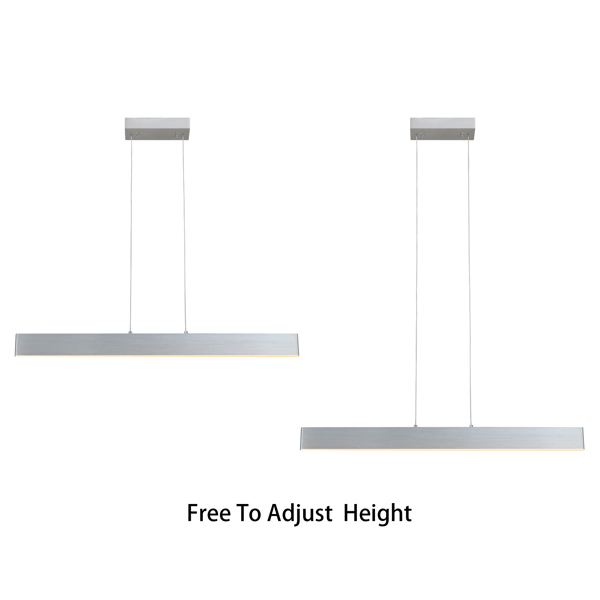 【 Linear 】 Home LED line light with 47.6x4.3inch, monochromatic temperature
