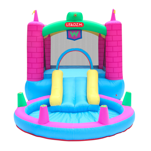 Inflatable Bounce House, Climbing Wall, Large Jumping Area, Ideal Kids Jumper
