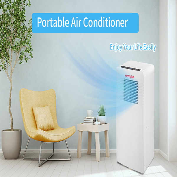 8000 BTU Portable Air Conditioner, Cools Rooms up to 200 sq.ft, Remote Control, Exhaust Hose, Complete Window Mount Exhaust Kit. Prohibit shelves in the Amazon