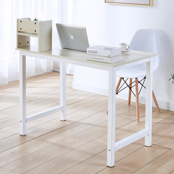 Computer Desk PC Laptop Table Study Home Office Writting Table Workstation OAK