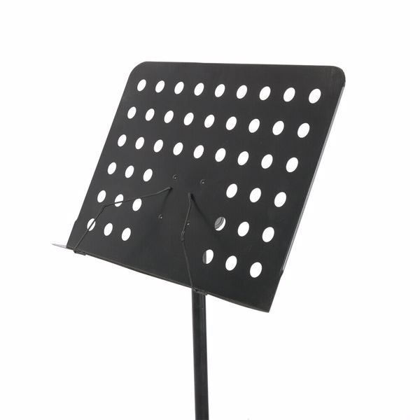 Music Stand, Professional Sheet Music Stand with Clip Holder Carry Bag LED Light