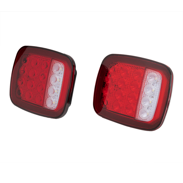 2pcs Truck Trailer LED Function as stop, turn, tail and back up lights
