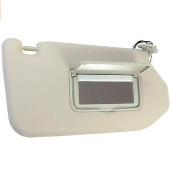 Sun Visor Right Side Set with Lamp replacement for Nissan Pathfinder 2013-2018 96400-9PB0A