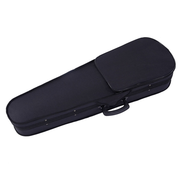 【Do Not Sell on Amazon】Glarry GV100 1/4 Acoustic Violin Case Bow Rosin Strings Tuner Shoulder Rest Natural