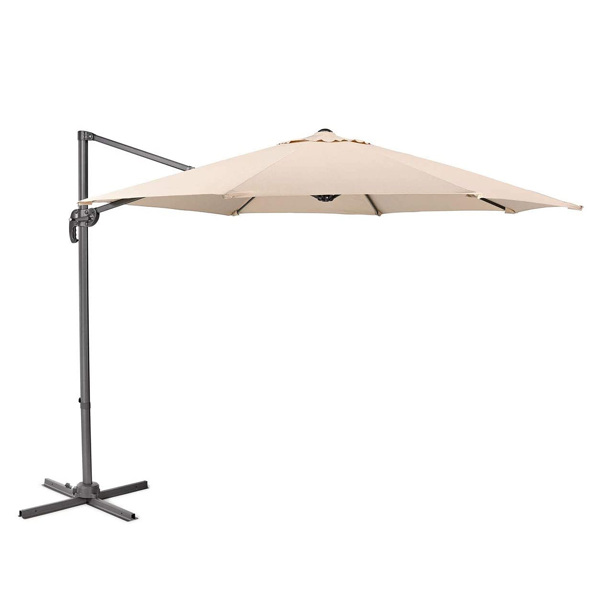 Heavy Duty 10ft Market Table Umbrella Net weight 40Lb , 8 Iron Bones, Metal Frame Without Base,240gsm Polyester (Do Not Sell on Amazon)