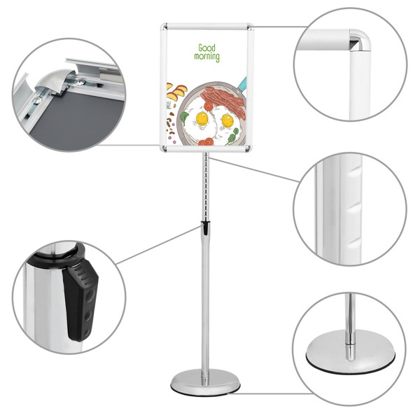A3 Aluminum Poster Stand