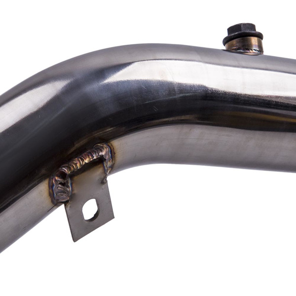 Stainless Steel Turbo Exhaust Downpipe for A5 2.0 TFSI A4 / A5 Quattro  2.0L