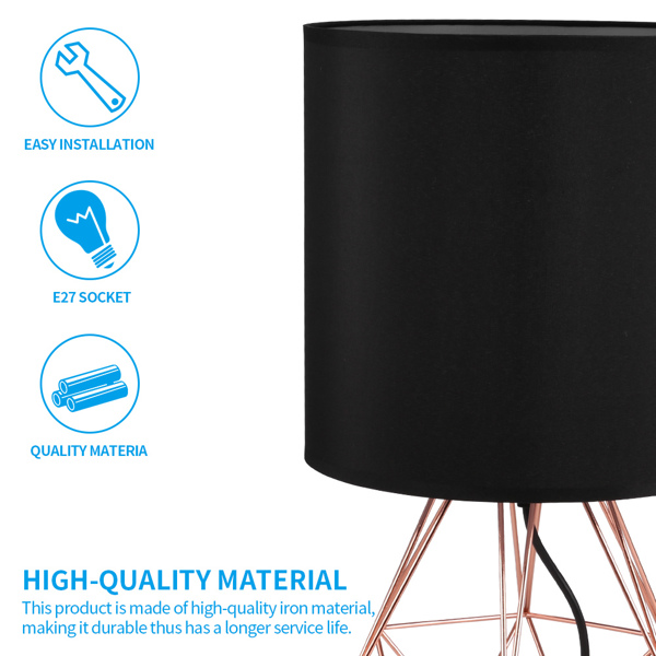 Simple Table Lamp with Diamond-shaped Light Stand