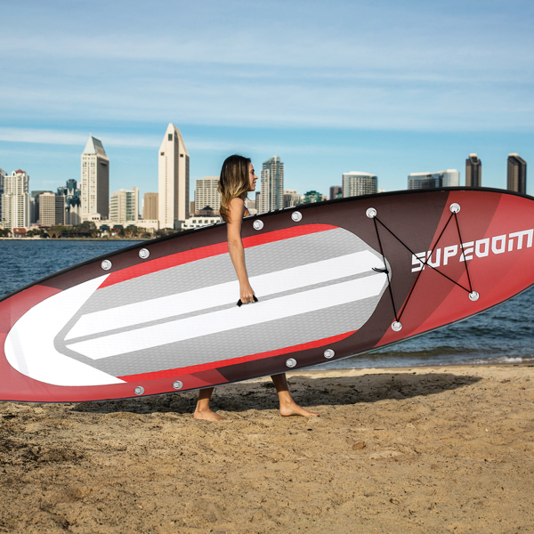 """SUPZOOM Crazy Bear Style Inflatable 10'6×32""""×6"""" SUP for All Skill Levels Everything Included with Stand Up Paddle Board, Paddle, Hand Pump, ISUP Travel Backpack, Leash, Waterproof Bag, Repair Kit"""