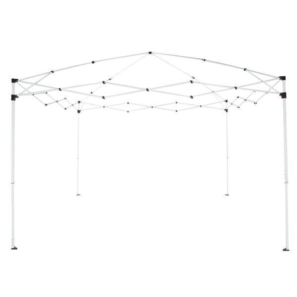 3 x 3m Practical Waterproof Right-Angle Folding Tent White