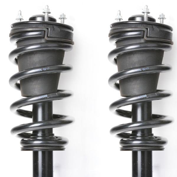 Pair Front Complete Strut Shock Absorber Assembly 139104 Compatible with 2007 2008 2009 2010 2011 2012 2013 2014 Suburban 1500 Tahoe Yukon XL 1500 2007-2013 Avalanche