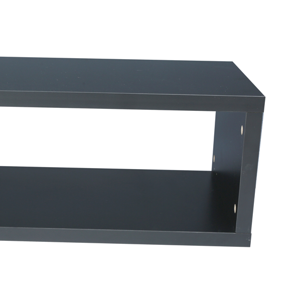 """Floating TV Console, 60"""", Black"""