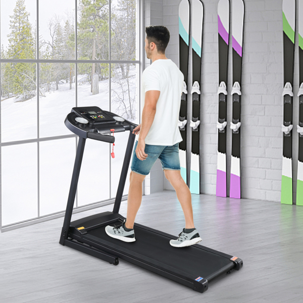 1.0HP Single Function Electric Treadmill With Hydraulic Rod