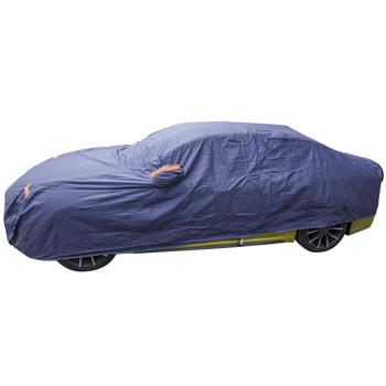 Full Car Cover Blue Waterproof Dust-proof Rain Snow Heat Resistant Protection