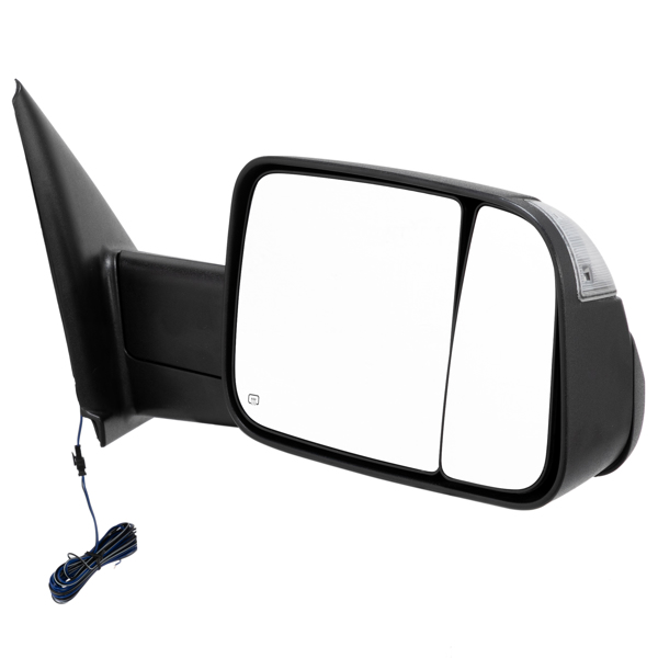 Fit 02-08 Dodge Ram 1500 03-09 2500 3500 Power Heated [2009 Style] Tow Mirrors